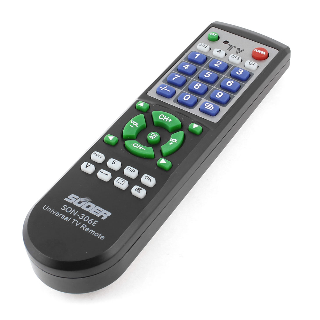 Black TV Television Control Remote Controller Spare Part