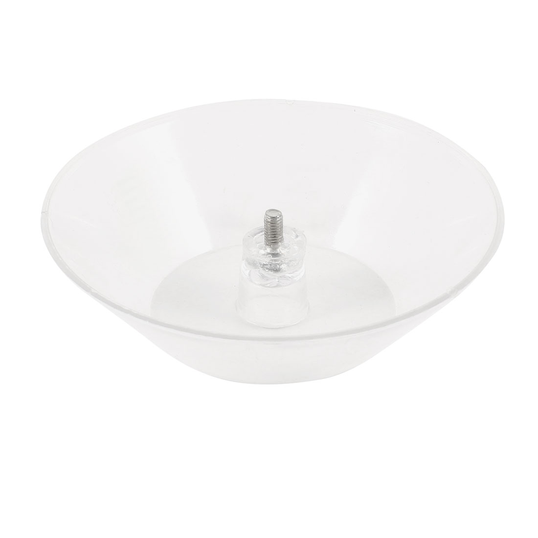 "Range Hoods 3/16"" Threaded Screwed Tempered Clear Plastic Oil Cup"