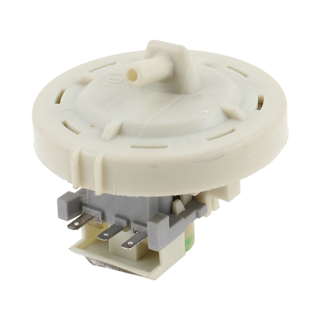 Gray Replaceable 58mm Diameter 3 Terminal Water Level Switch for Washing Machine