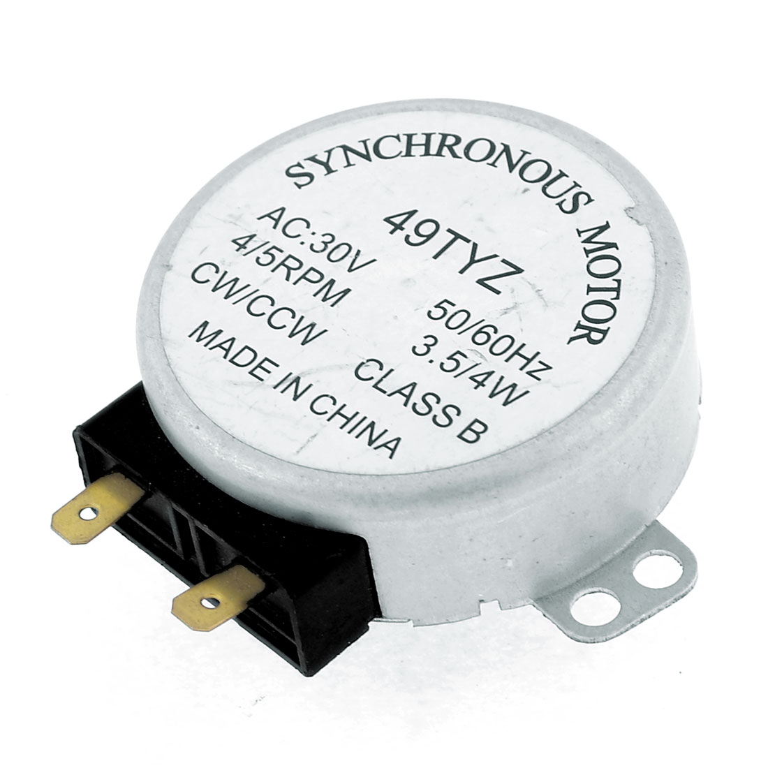AC 30V 3.5/4W 4/5RPM Micro Synchronous Motor for Microwave Oven