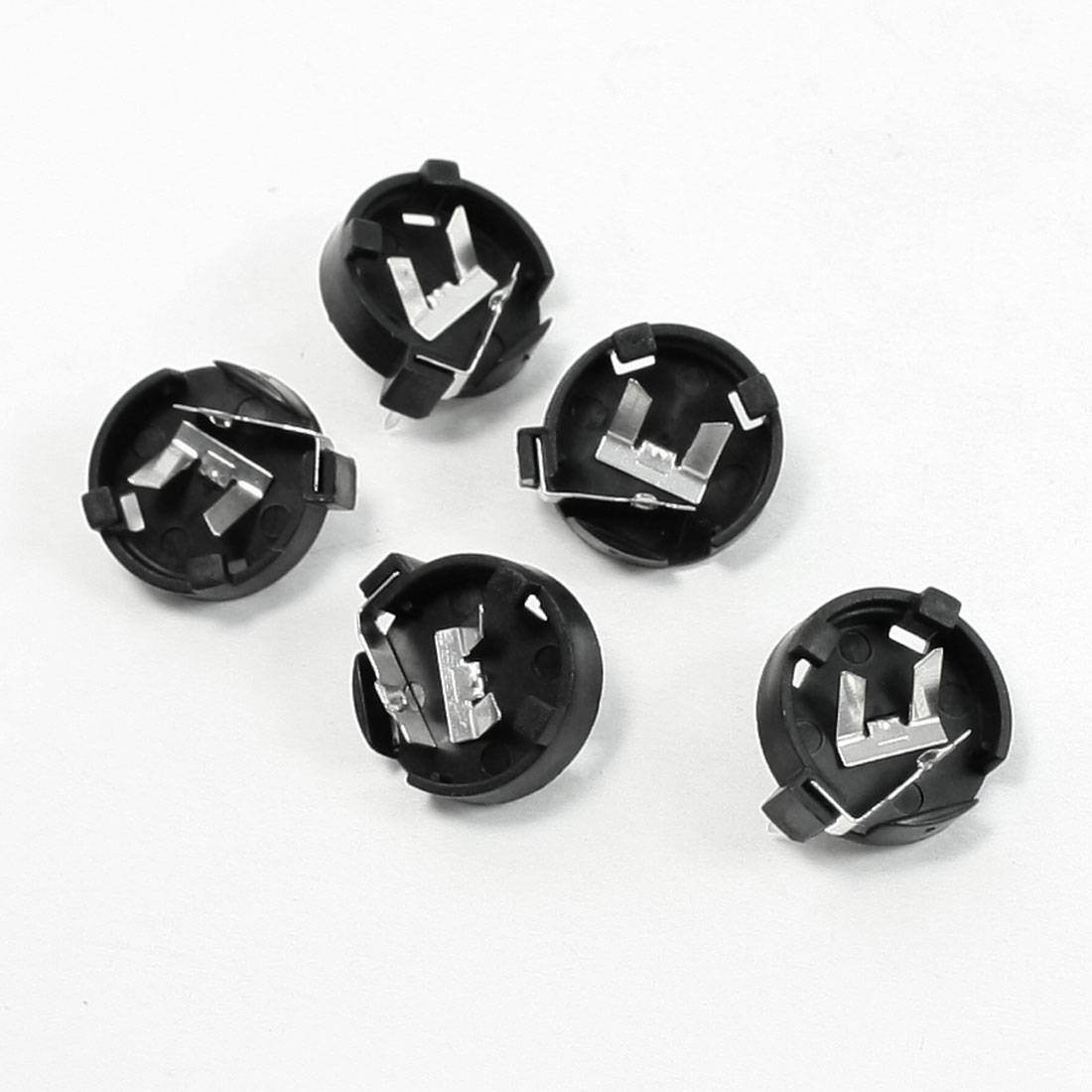 5 Pcs Coin Button Cell Battery Holders for CR1220 LIR1220