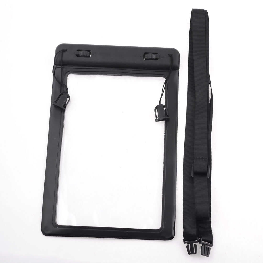 Black Water Resistance Plastic Pouch Cover for Apple iPad