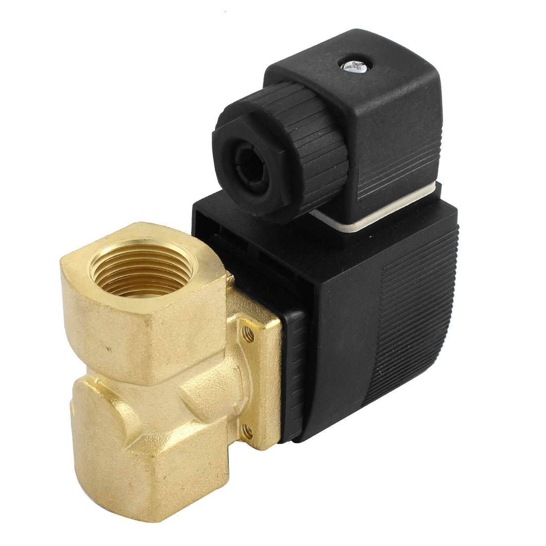 "2 Position 2 Way G1/2"" Port Direct Acting Solenoid Valve AC 220V"