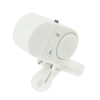 LED Lamp White Plastic Electronic Fish Bite Alarm Bell Alert w Clip