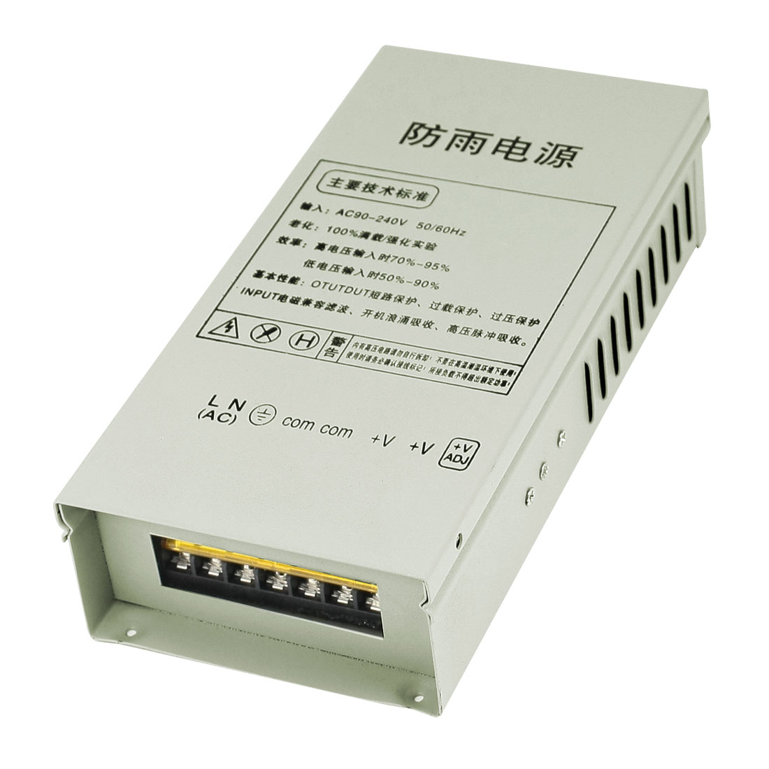 Output DC 12V 12.5A Rainproof Power Supply Driver for LED Light Strip