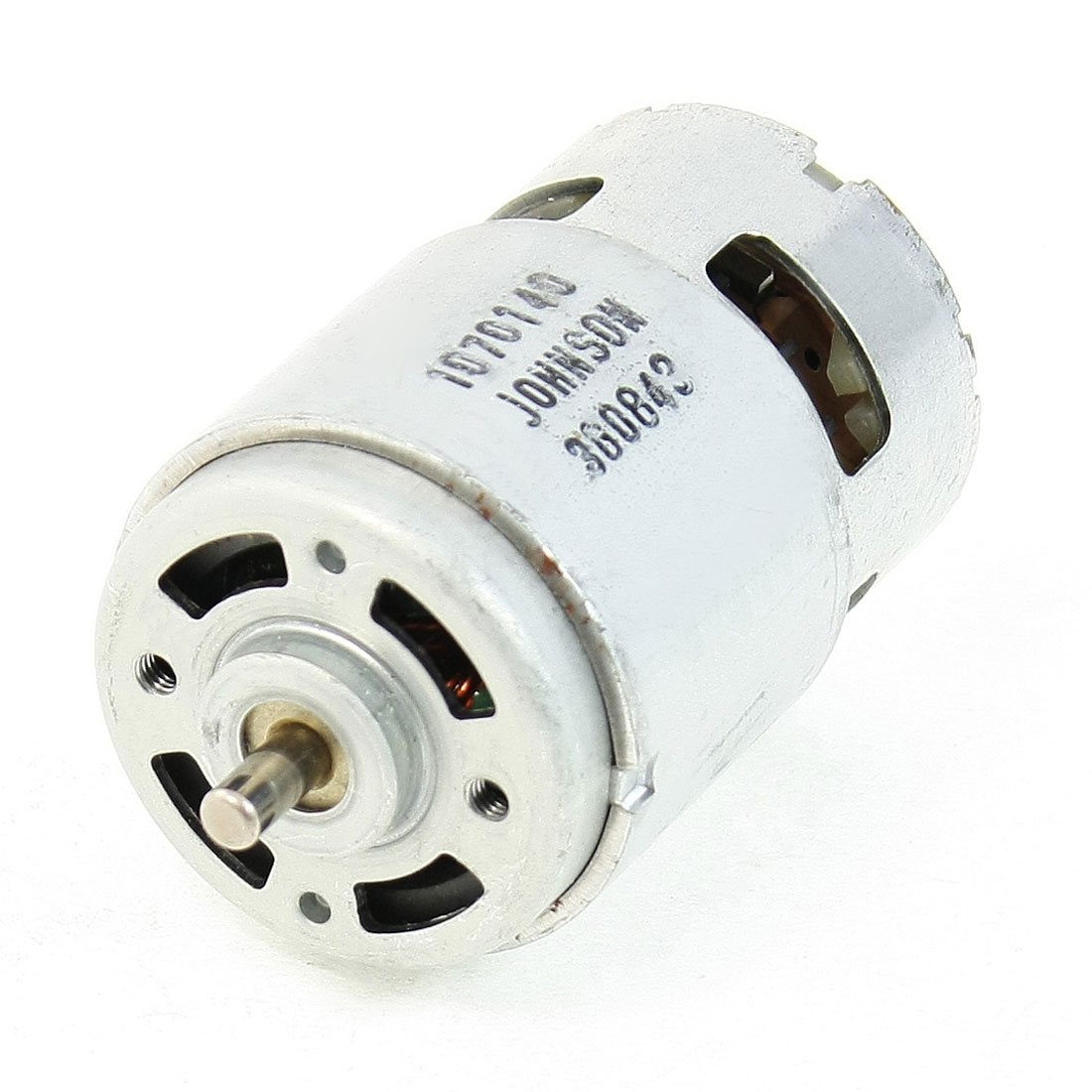 DC 12V 3600RPM 5mmx9mm Dia Shaft 2 Terminals 2P Motor Replacement Parts