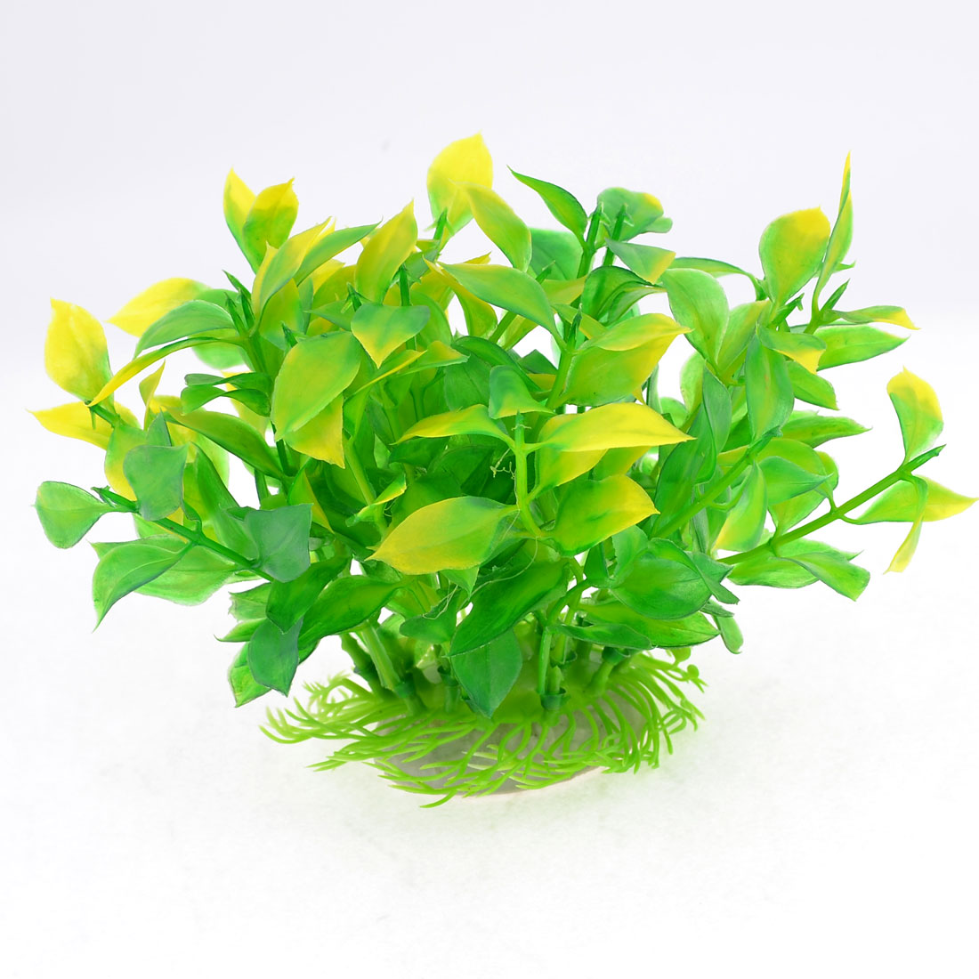 Green Aquarium Tank Underwater Plastic Plant Decoration