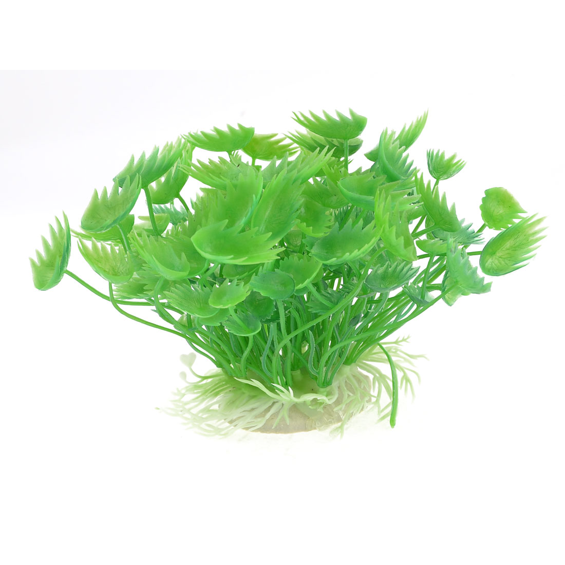 Green Aquarium Plastic Emulational Plant Waterweeds 10cm High
