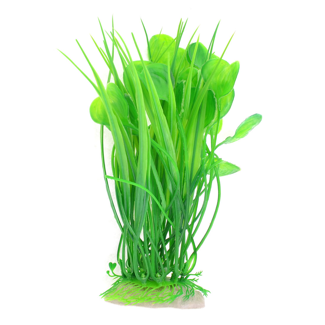 Green Aquarium Plastic Simulation Water Plant Decor 22cm High