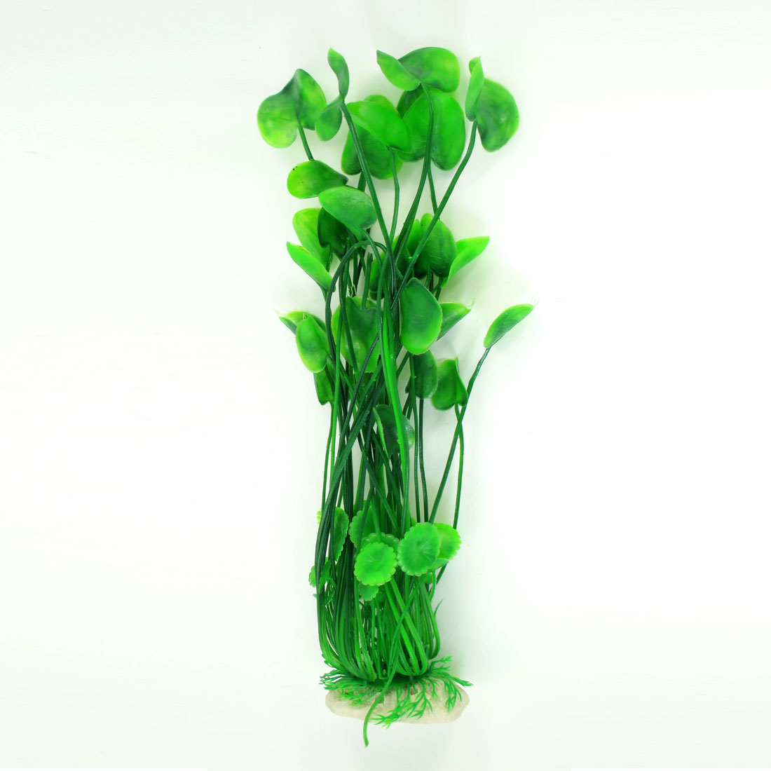 Aquarium Landscaping Manmade Green Plastic Plant Water Grass 37cm Height