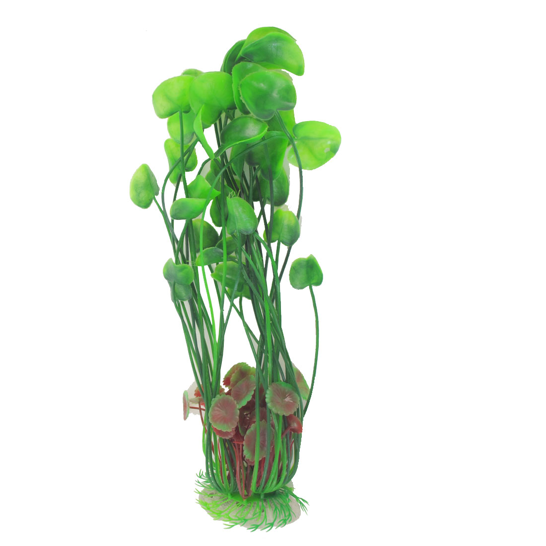 "15.4"" High Green Artificial Plastic Plant Underwater Grass for Fish Tank"