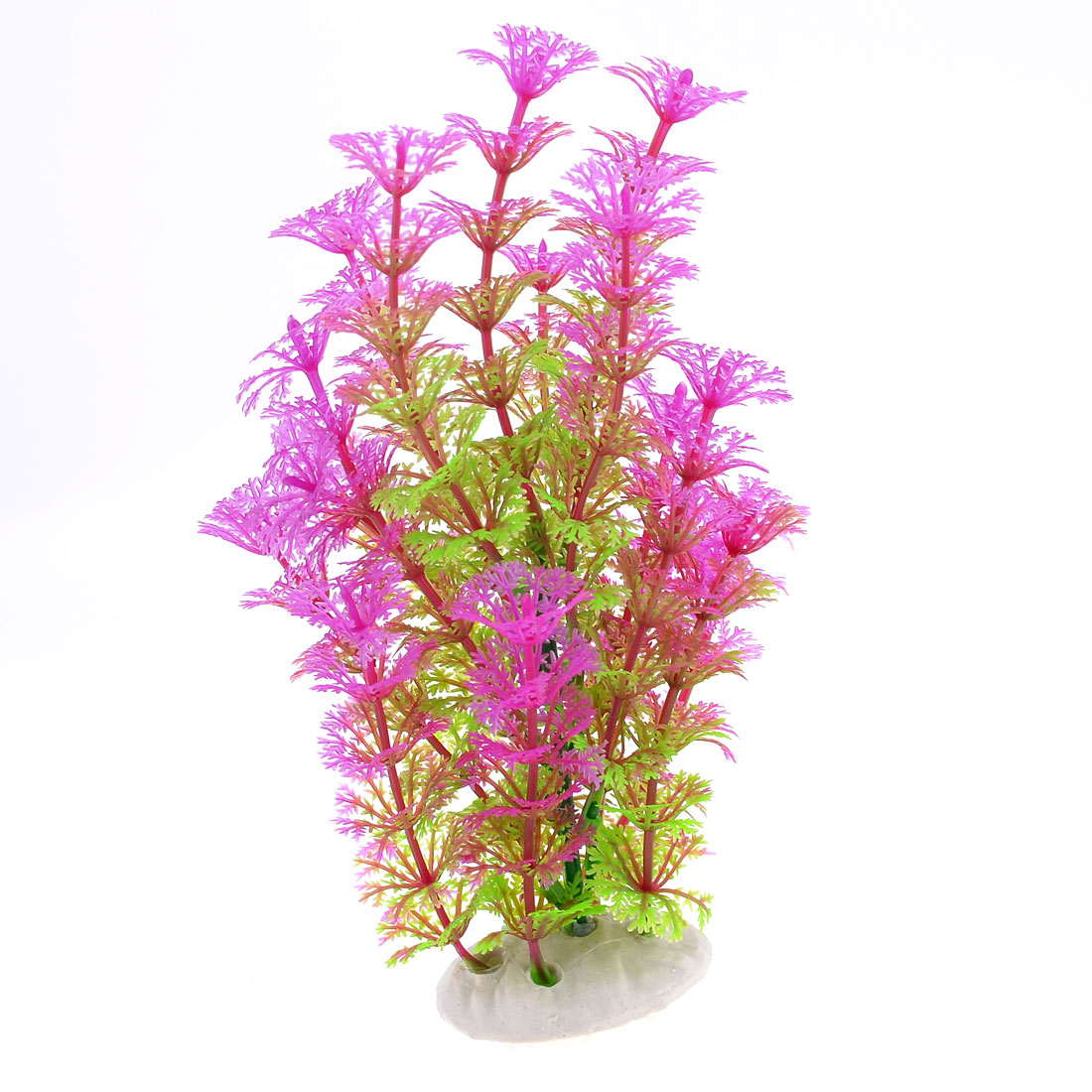 Purple Green Aquarium Simulation Plastic Aquatic Float Grass Ornament