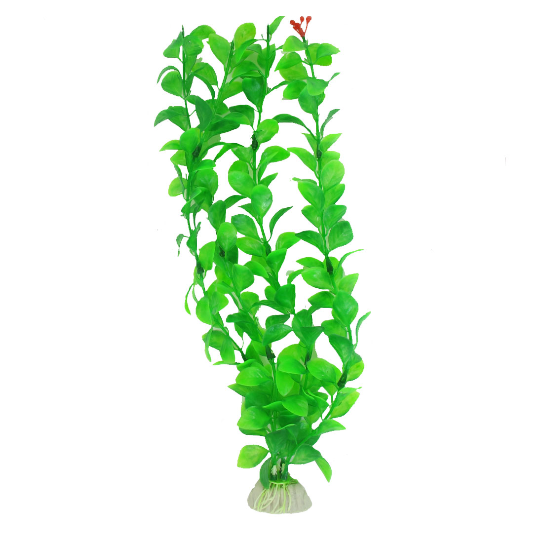 "13"" High Artificial Plastic Green Underwater Plant Grass for Fish Tank Aquarium"