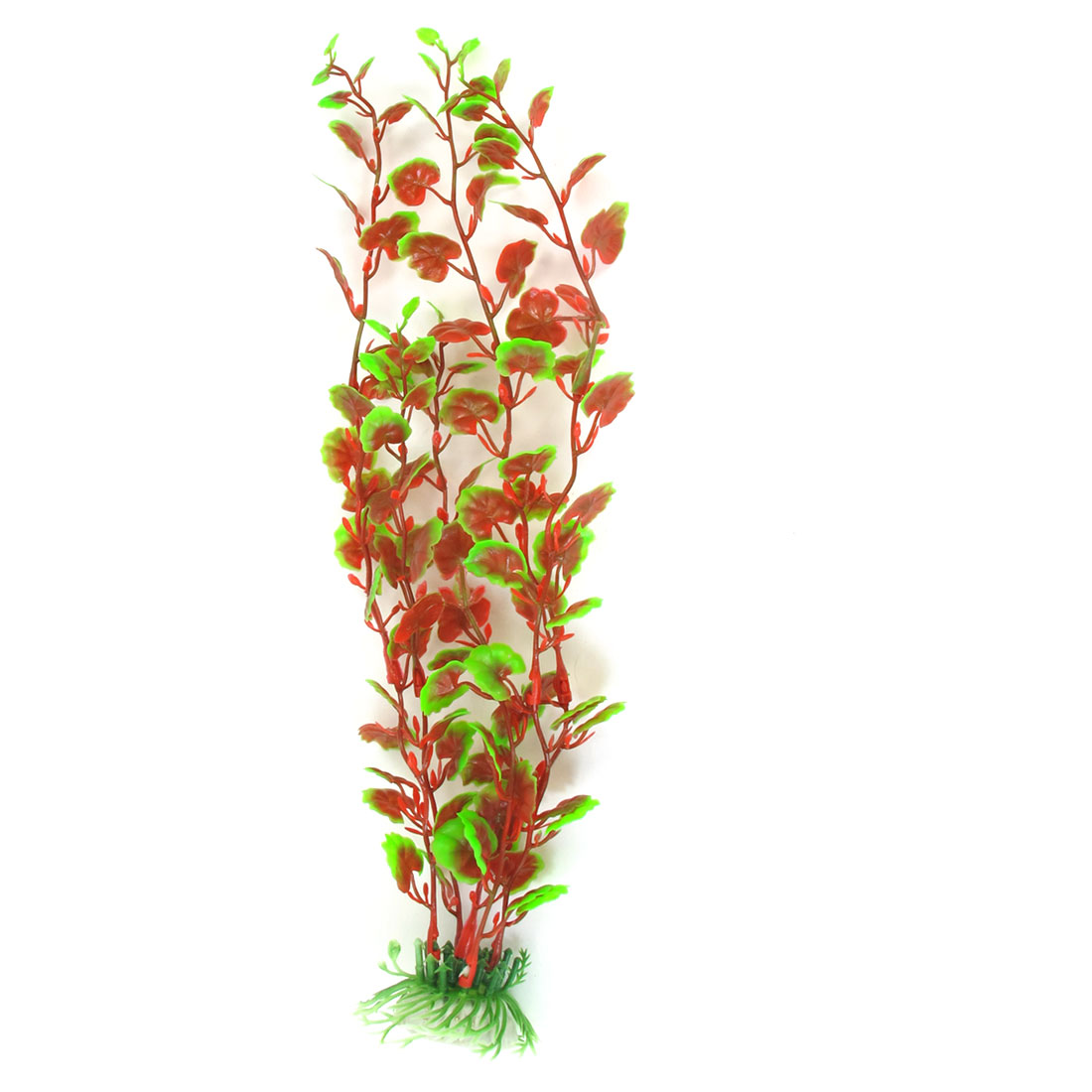 "13"" High Manmade Water Grass Plant Decoration Red Green for Fish Tank Aquarium"
