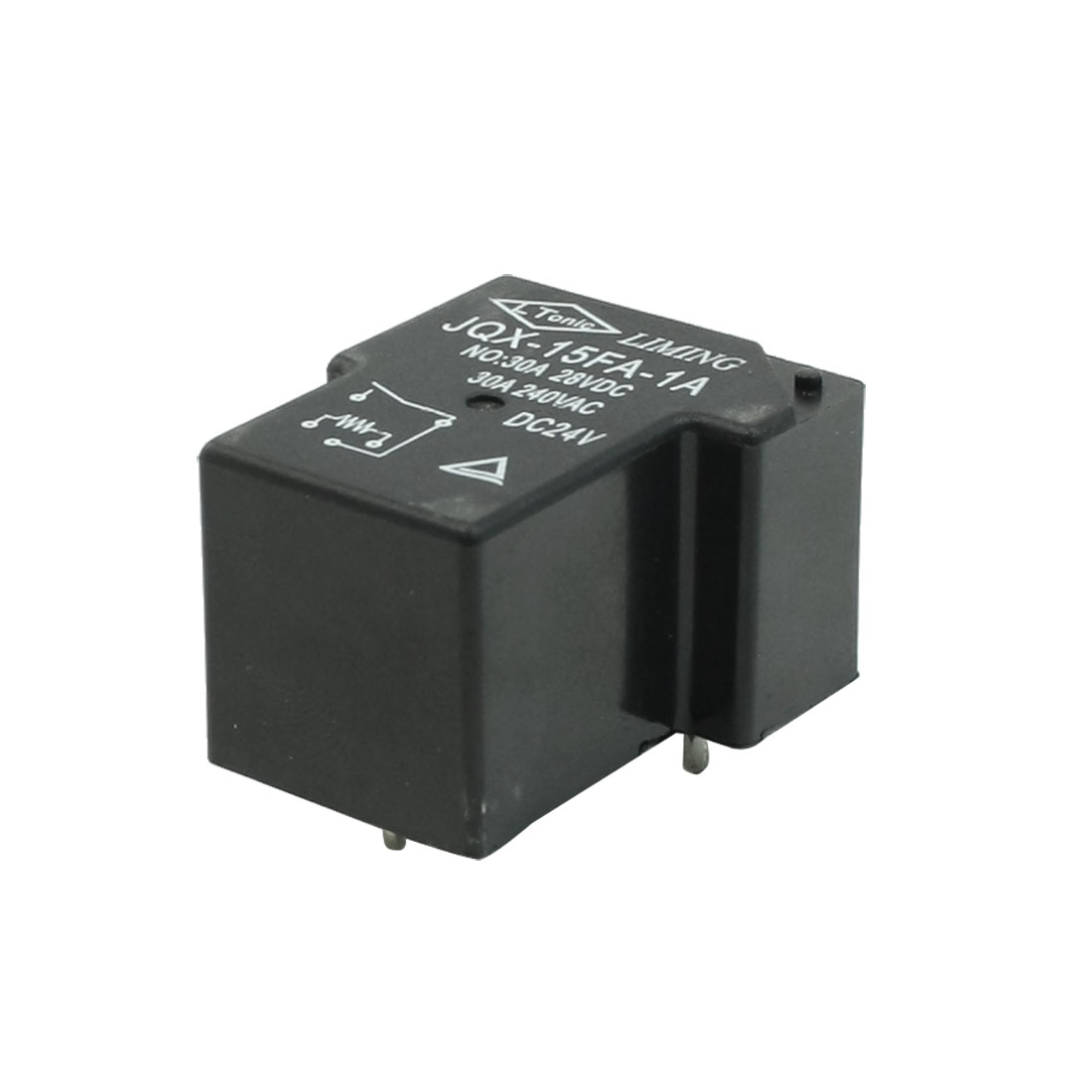 JQX-15FA-1A DC 24V Coil 5 Pins SPDT Mini PCB Power Relay