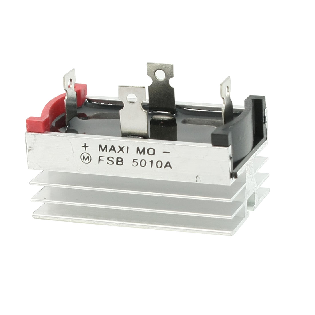 Aluminum Heatsink Base Single Phase Bridge Rectifier Diode 50A 1000V
