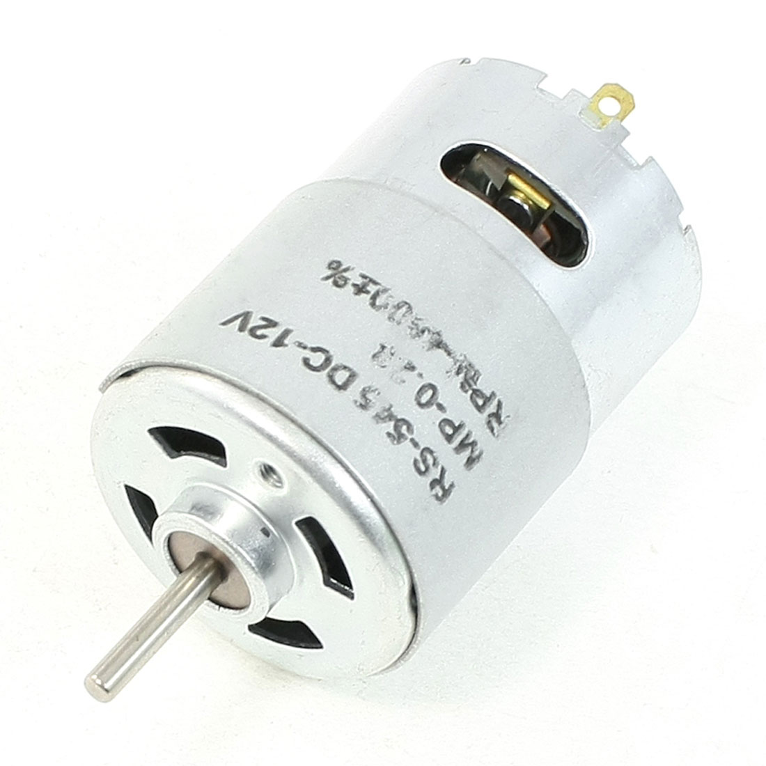 4000 RPM 12V High Torque Cylinder Shaped Electric DC Motor