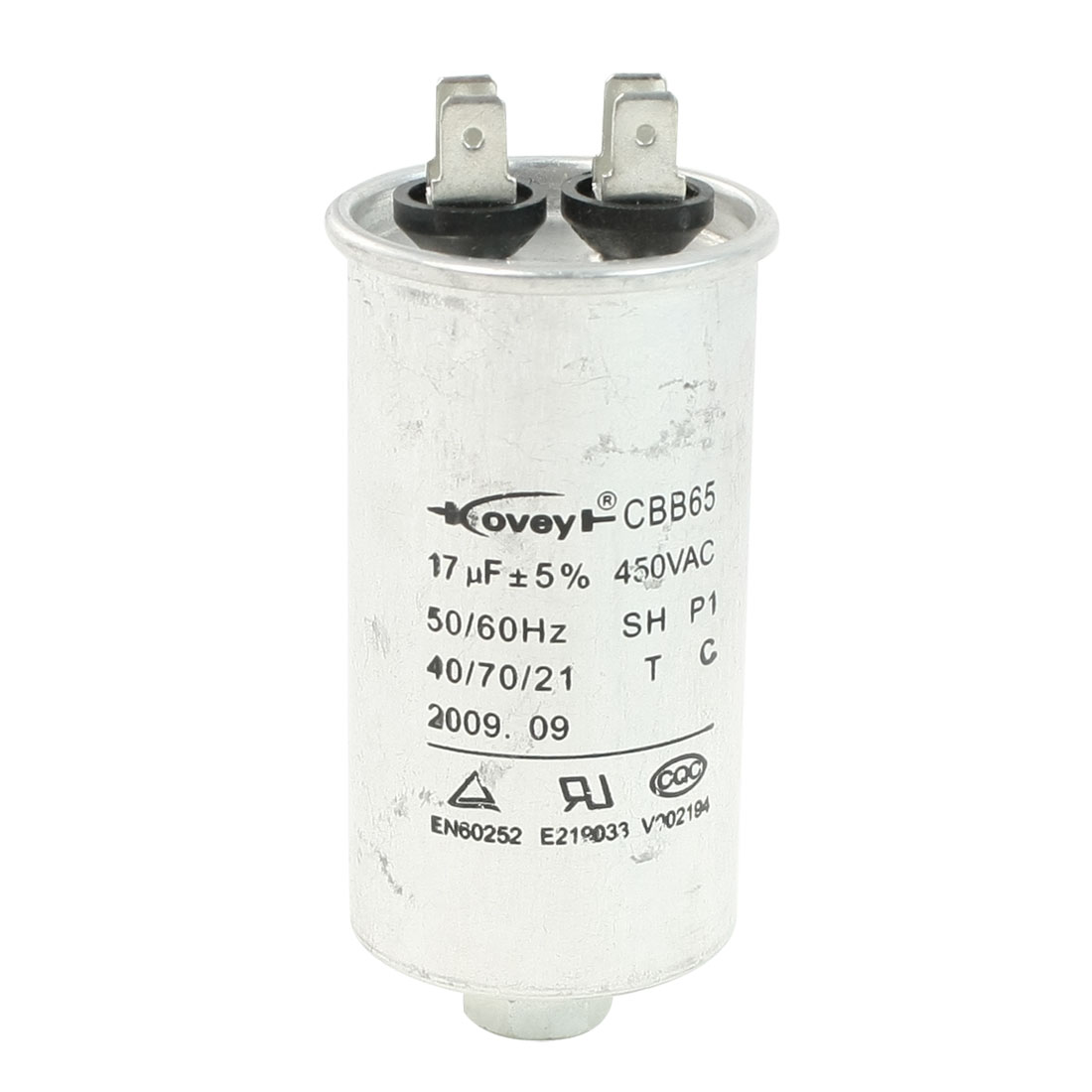 Air Conditioner AC 450V 17uF Cylindrical Motor Capacitor CBB65