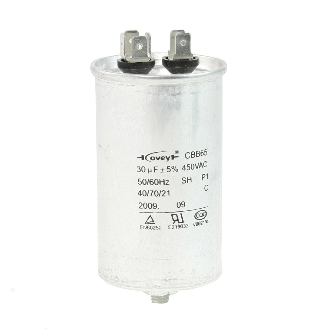 Air Conditioner AC 450V 30uF Cylindrical Motor Capacitor CBB65