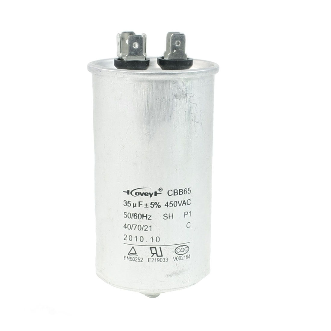 Air Conditioner AC 450V 35uF Cylindrical Motor Capacitor CBB65
