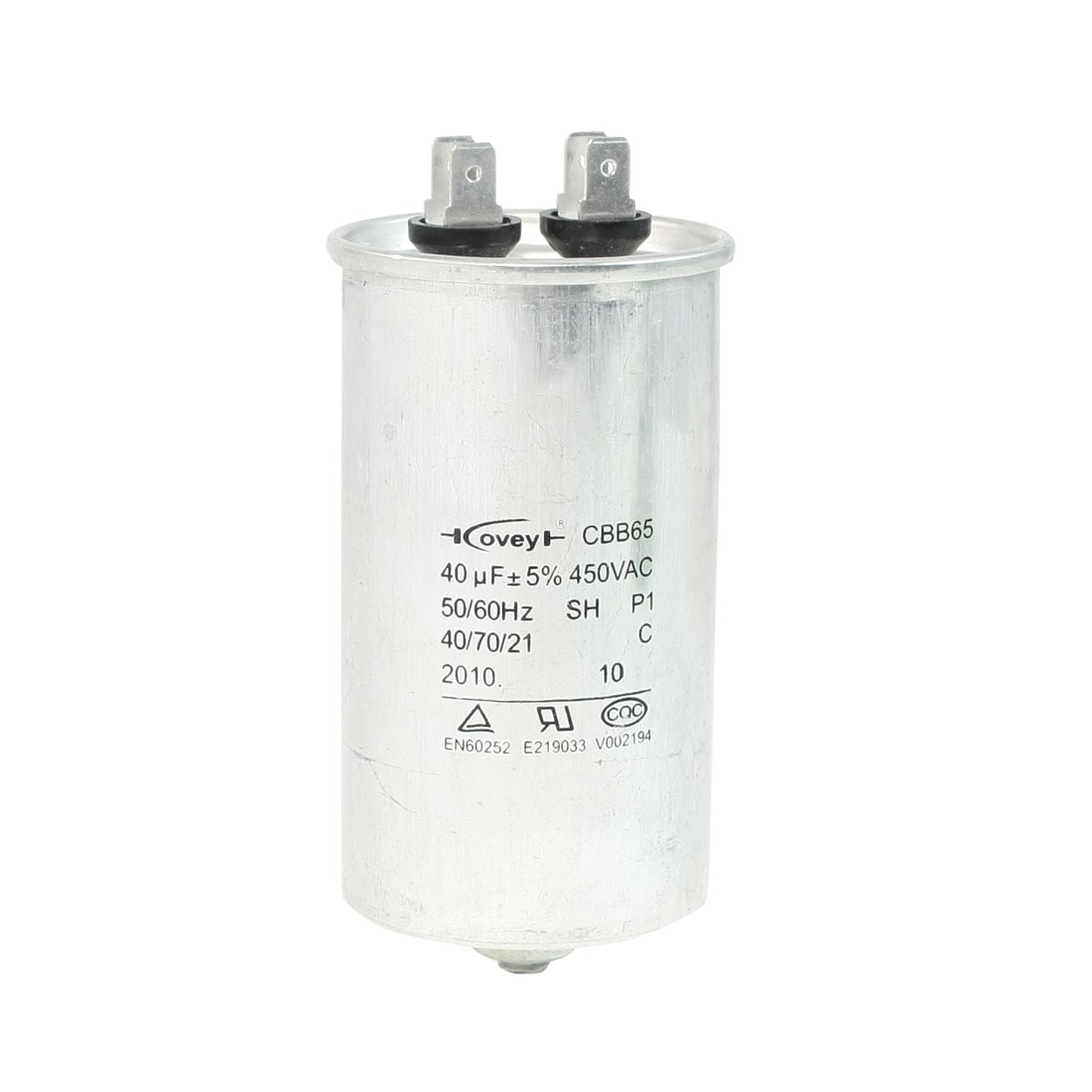 Air Conditioner AC 450V 40uF Cylindrical Motor Capacitor CBB65