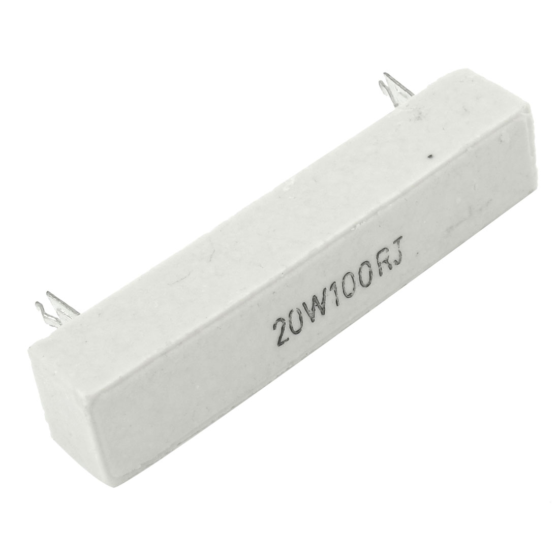 DIP Wirewound Ceramic Cement Resistor 100 Ohm 20W 5%