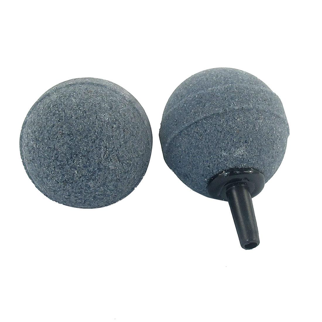 """2 Pcs Aquarium Fish Tank 1.2"""" Ball Shape Bubble Stone Airstones"""