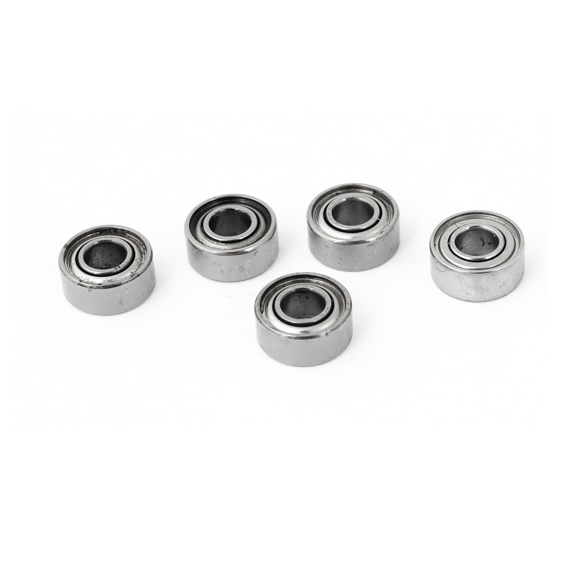5Pcs 730ZZ 3mm x 7mm x 3mm Shielded Deep Groove Radial Ball Bearing