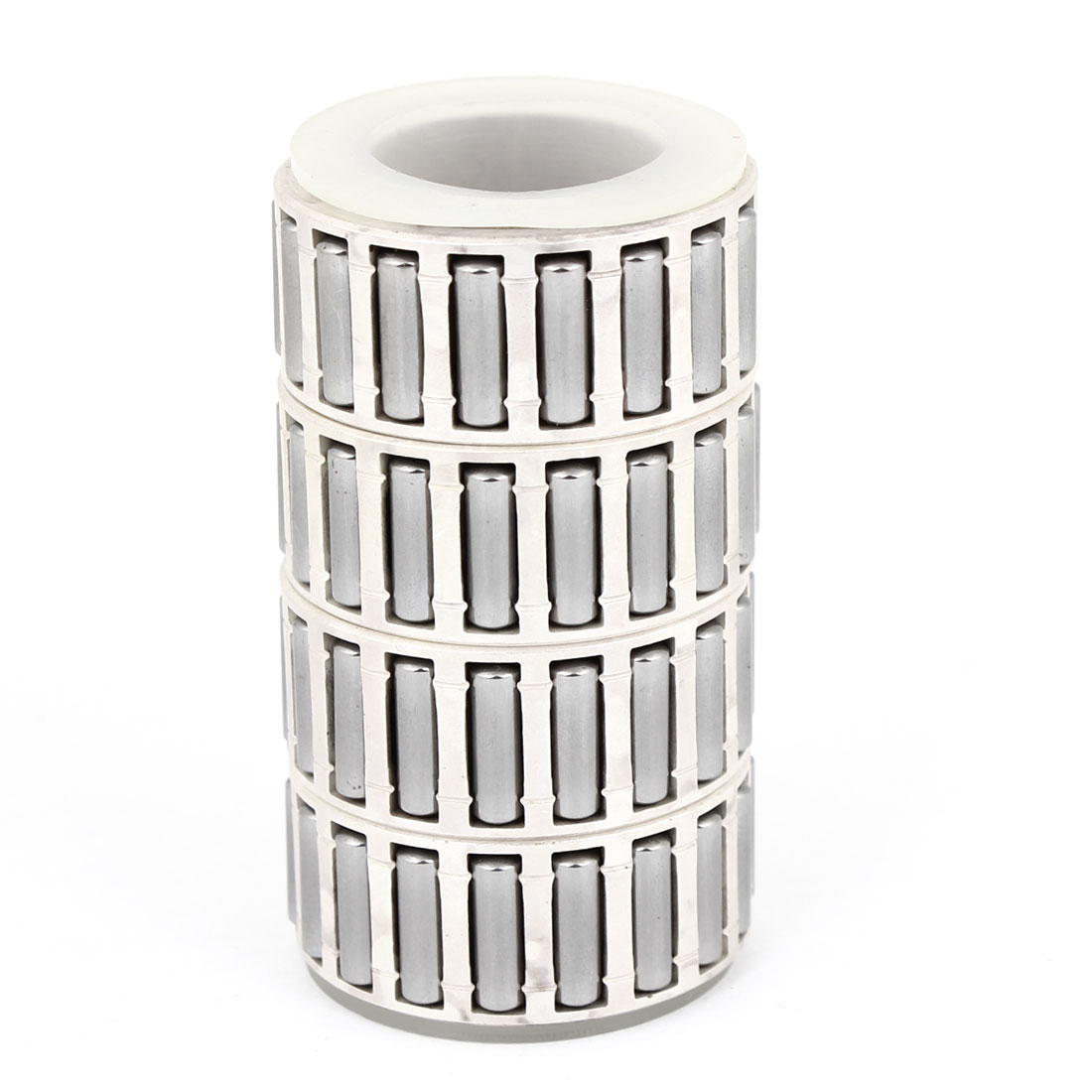 4 in 1 K Type 41mm Outside Dia Bearing Cage Roller Silver Tone