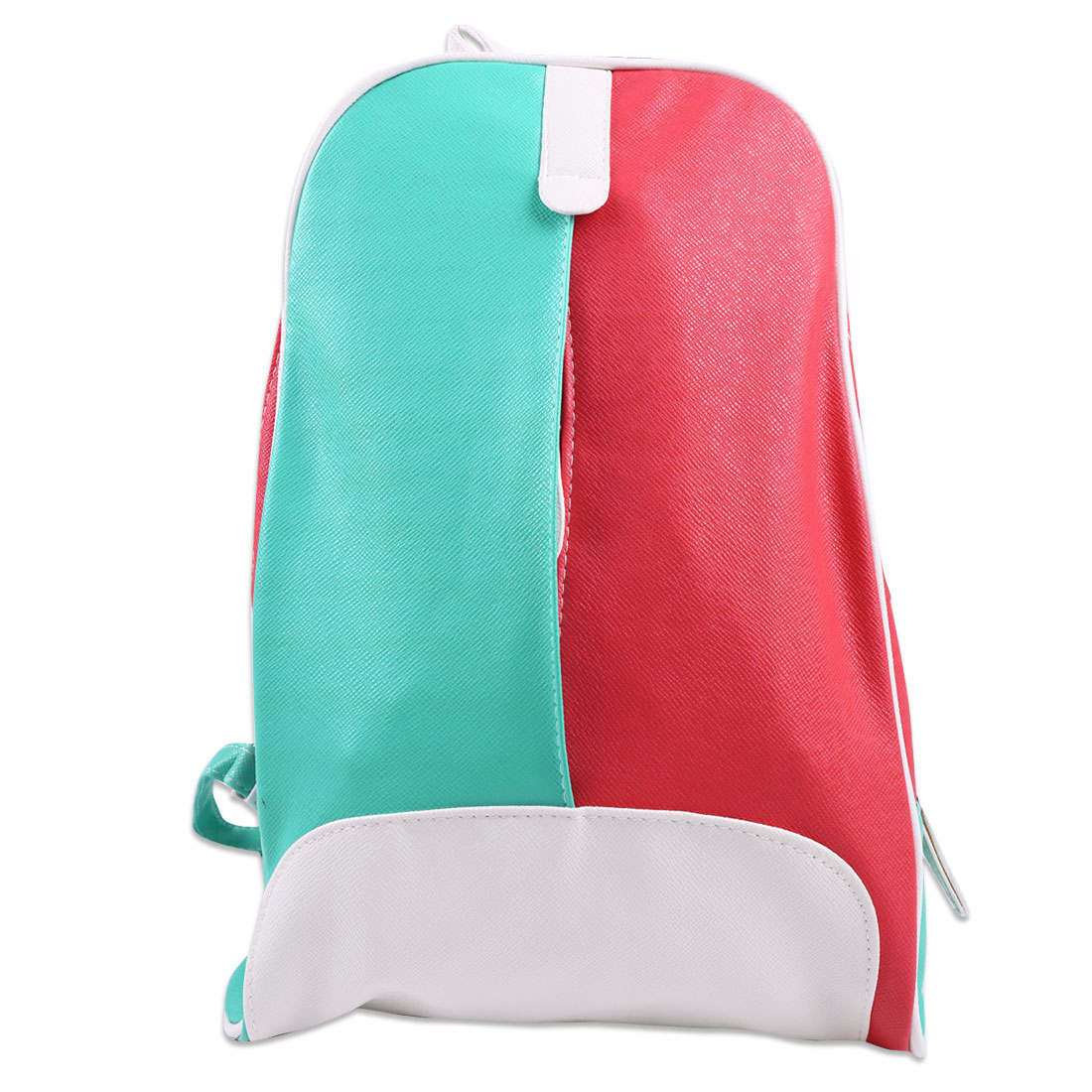 Children Zip Closure Interior Pockets Backpacks Aqua Watermelon Red