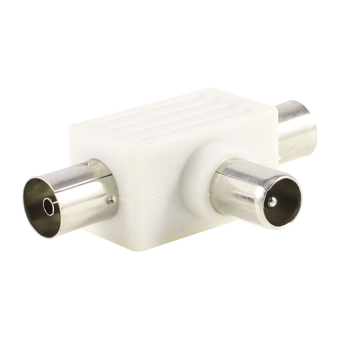 CCTV Camera BNC 3 Way Male to 2 Female Plug RF Coaxial Converter Connectors
