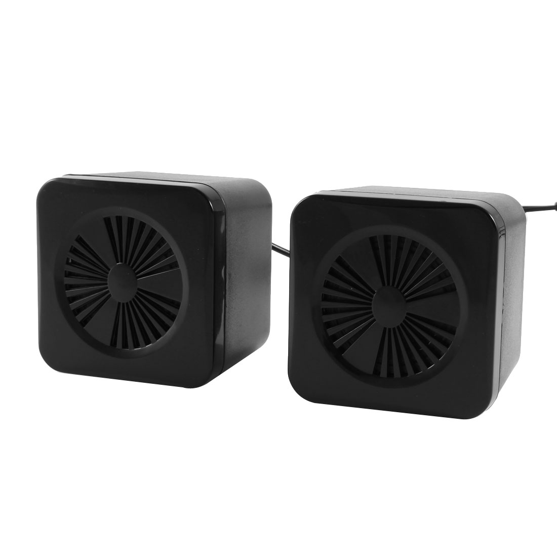 4 Ohm 3W Volume Control USB 2.0 Desktop Mini Speaker Box Pair for MP3 PC