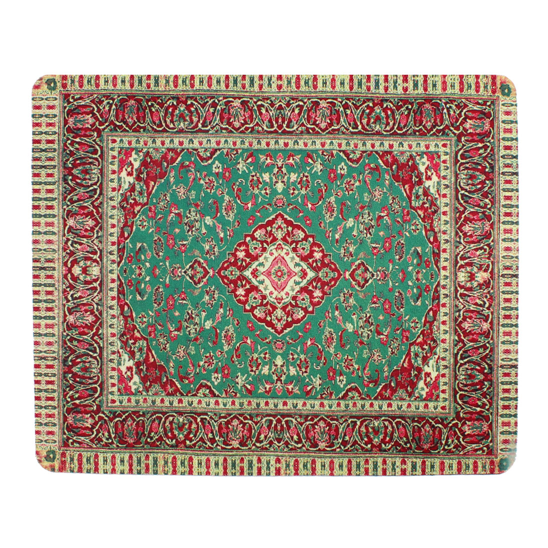 Colors Islamic Flower Pattern Rubber Fabric PC Laptop Mouse Pad Mat