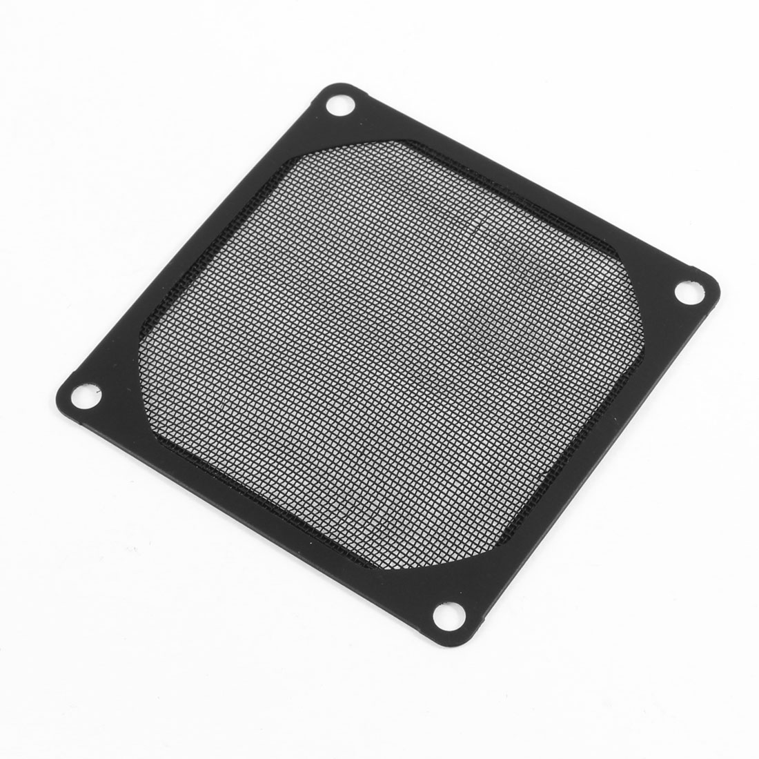 8cm x 8cm PC Cooler Fan Aluminum Dustproof Meshy Filtere Black