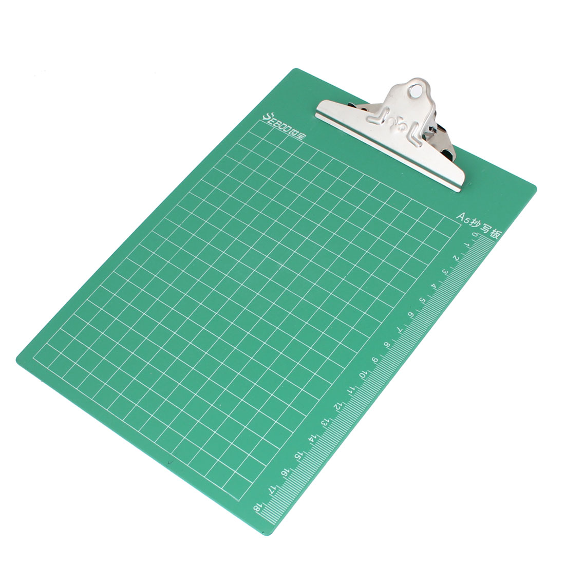 Pale Green Plastic Memo Restaurant Holder Writing Cleaner Clipboard Clip Board
