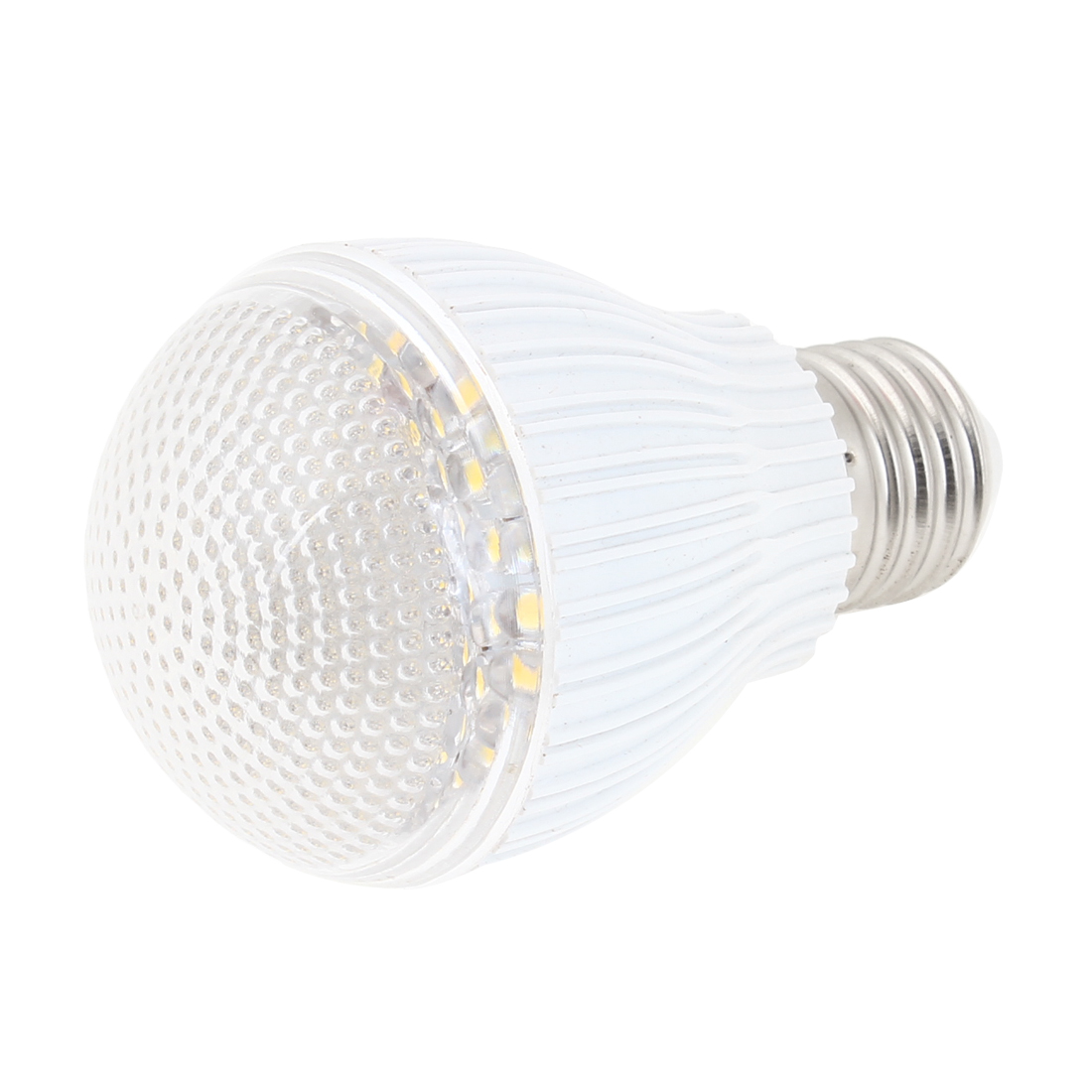 Metal Plastic Housing Warm White 60-LED Bedroom Lamp Bulb 4W