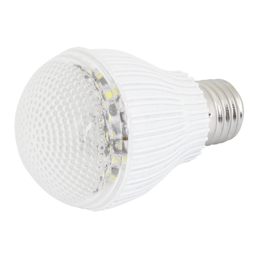 Kitchen Home Indoor E26 Screw Base White Light 60 LED Ball Bulb Lamp 4W AC 220V