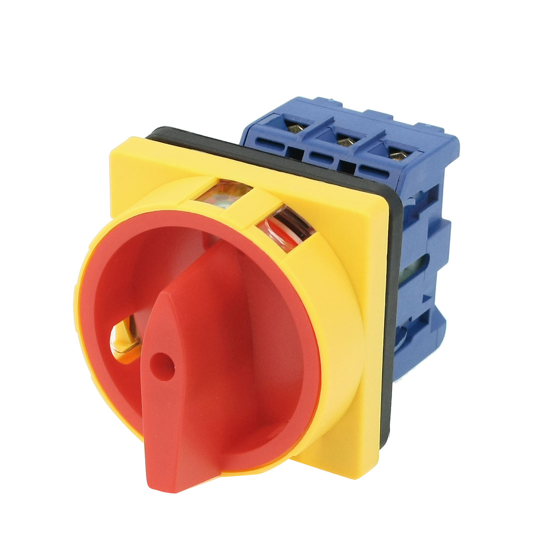 Ui AC 660V Ith 25A 6 Screw Terminals ON/OFF Rotary Combination Switch