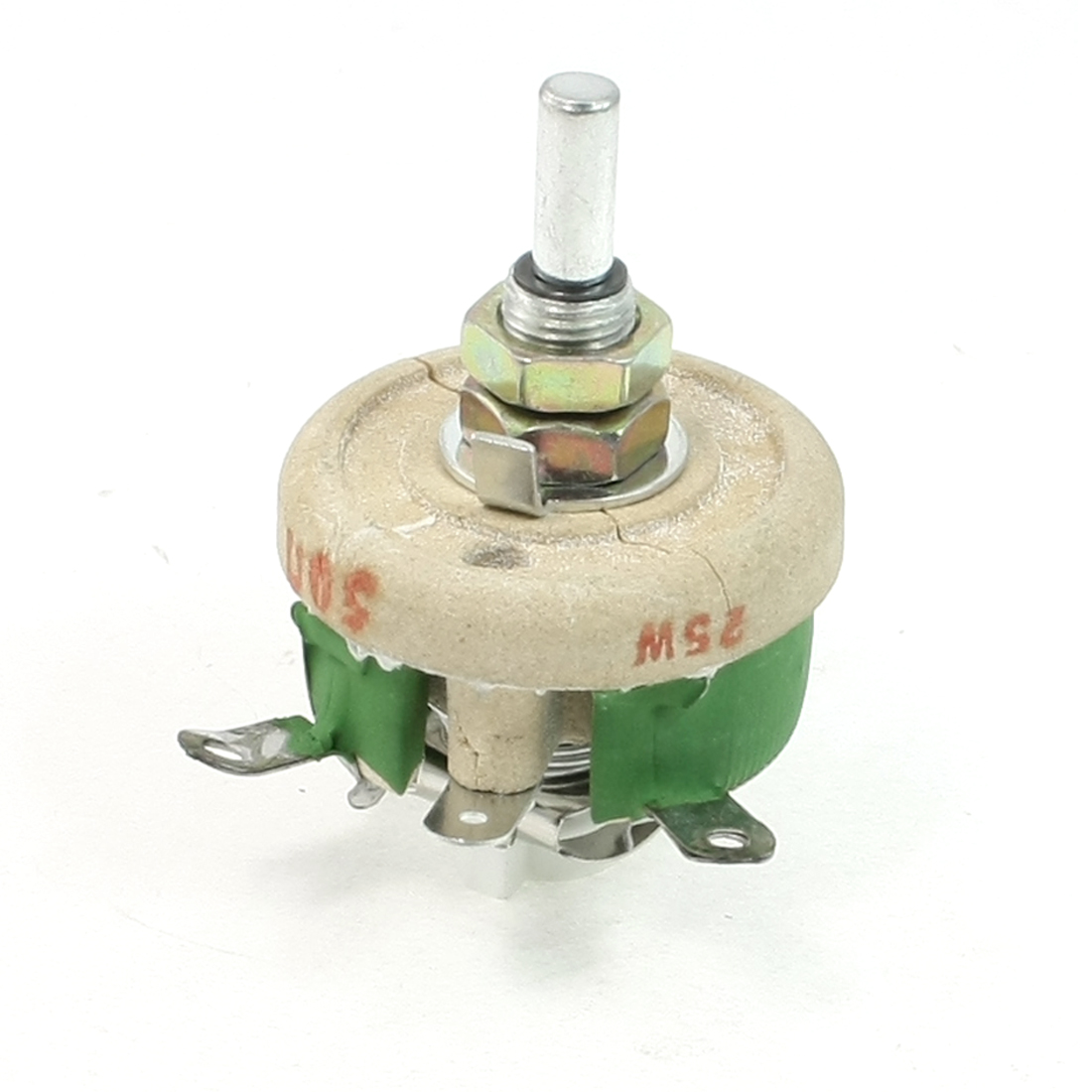 Motor Control 25W 50 Ohm C Shaped Ceramic Variable Resistor