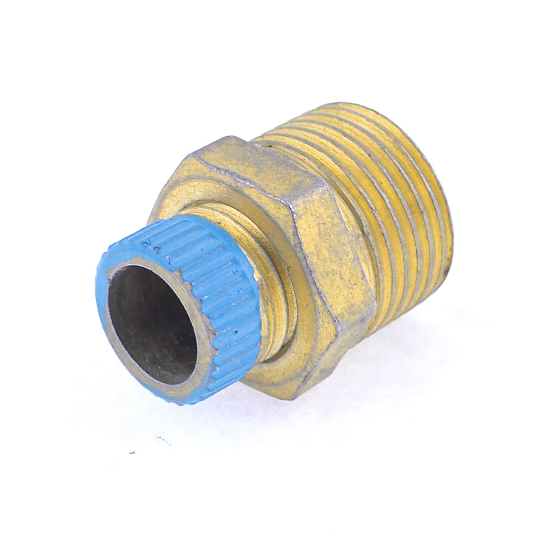"Air Compressor Part Metal 0.47"" Male Threaded Water Drain Valve"