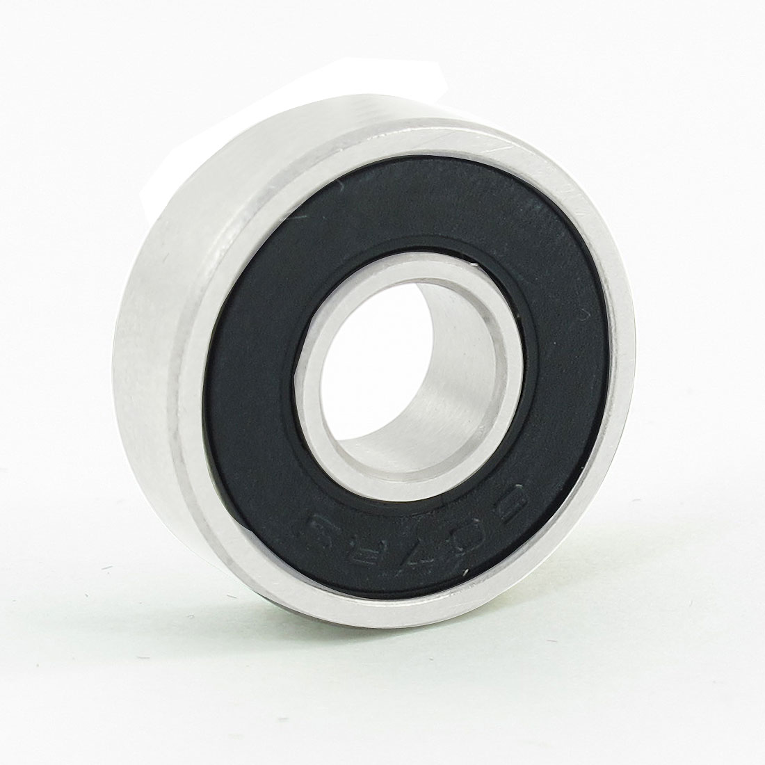 Replacement 607RS Roller-Skating Deep Groove Ball Bearing Black 19mm x 7mm x 6mm