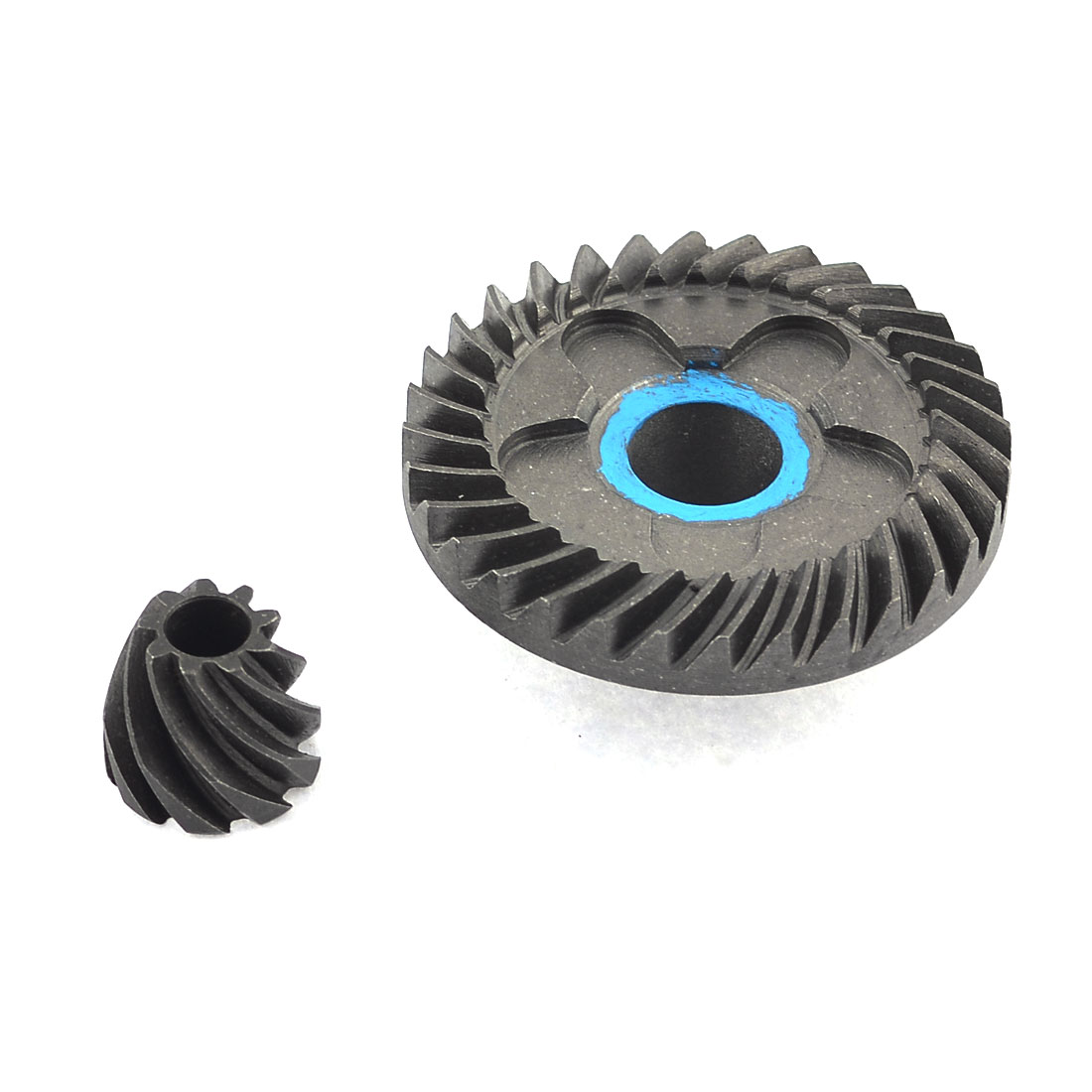 Spiral Bevel Gear Ring 45mm x 12mm x 17mm Pinion Set for Hitachi 100 Angle Grinder
