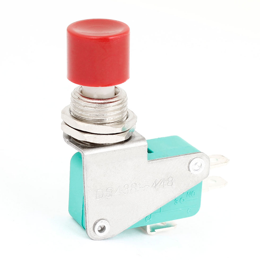 AC 15A/250V 6A/125V 3 Pin Red Momentary Press Button Switch