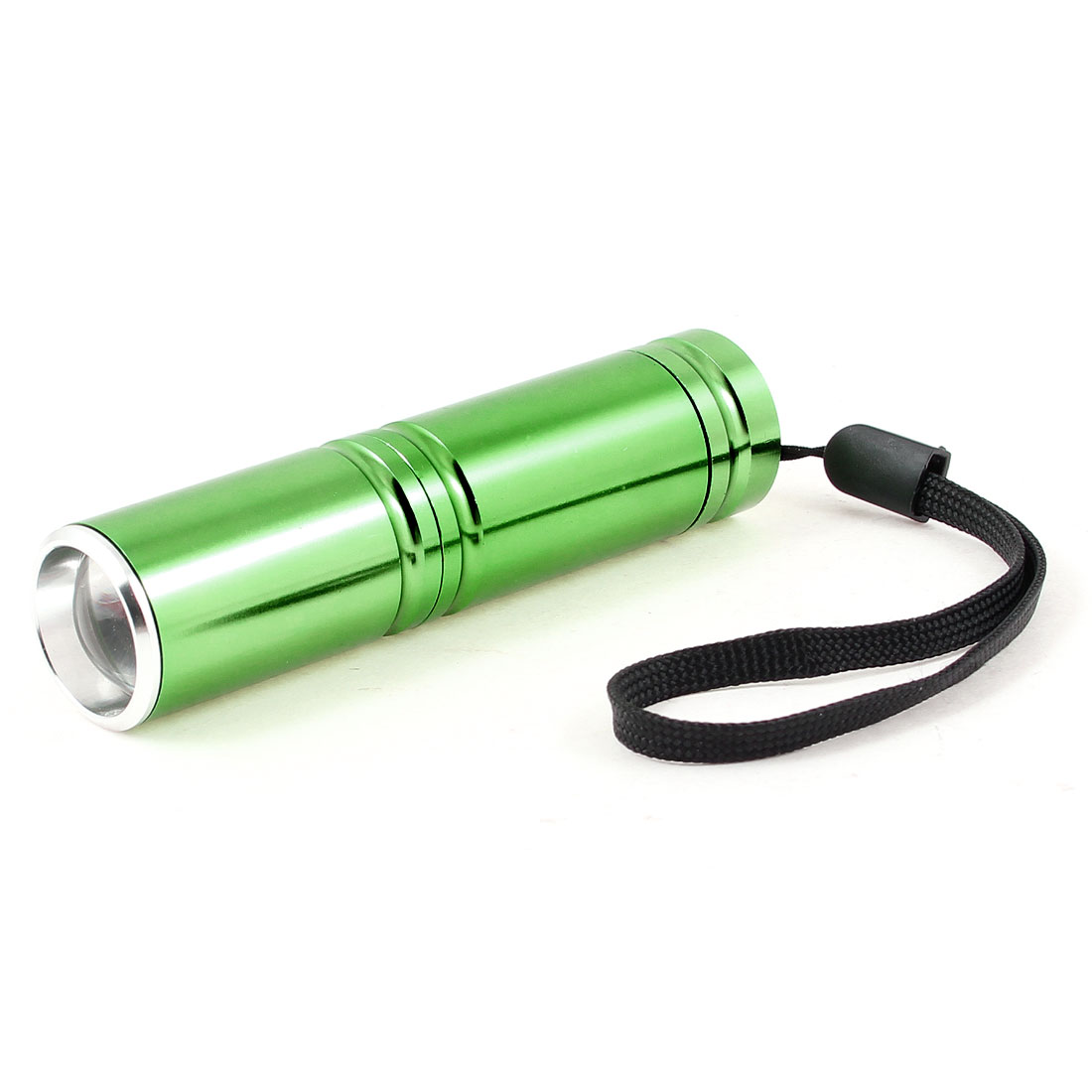 Traveling Battery Powered White Light LED Torch Flashlight Lamp 150LM Green