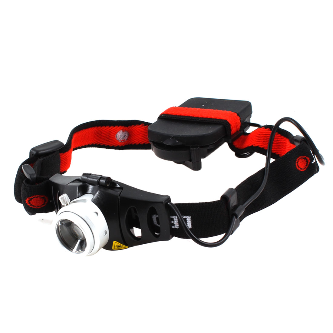 White LED Focus Adjustable 3 Model Headlight Headlamp Torch 160LM for Hiking