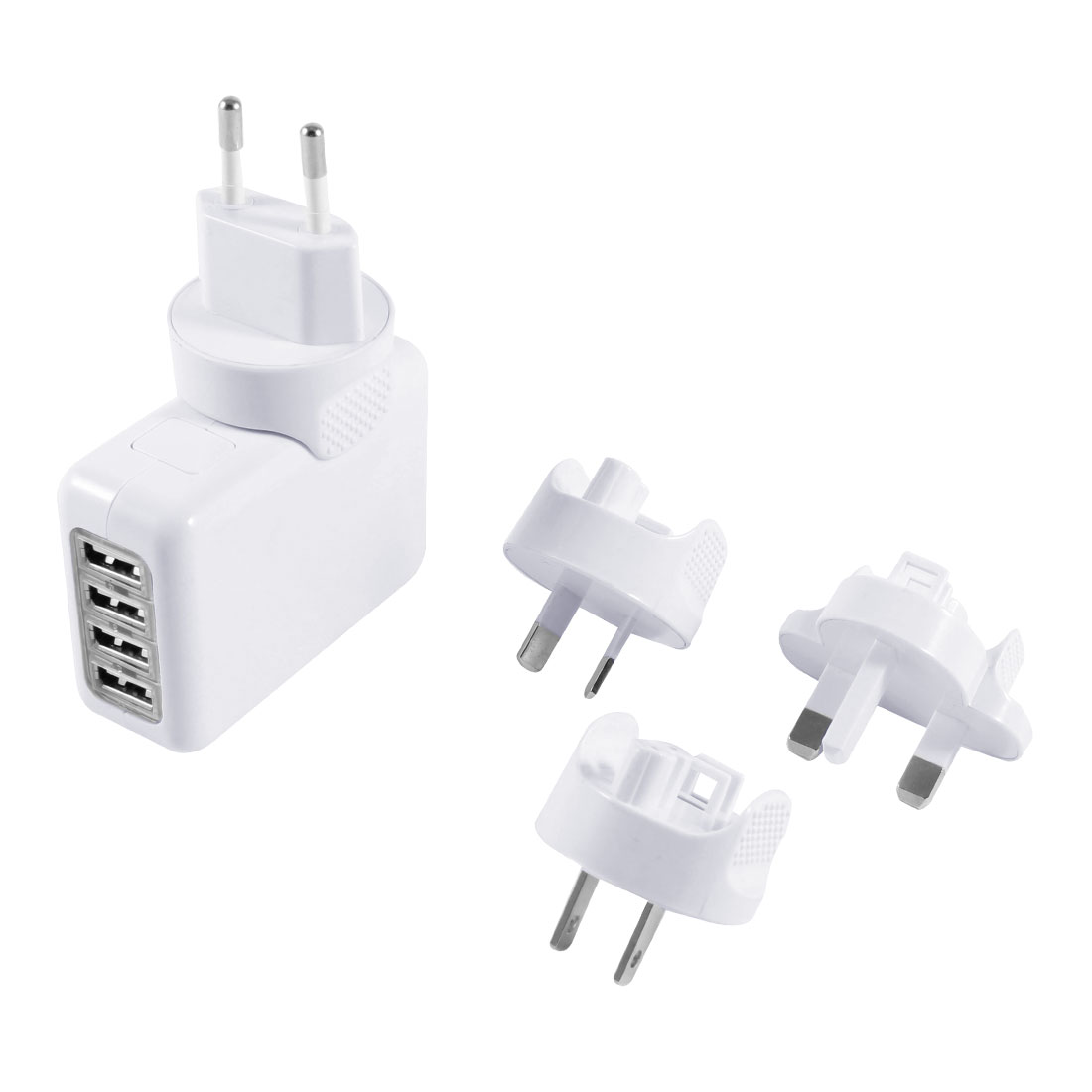 4 Port USB Wall Charger HUB AC Power Adapter Supply Plug UK AU EU US for Phone