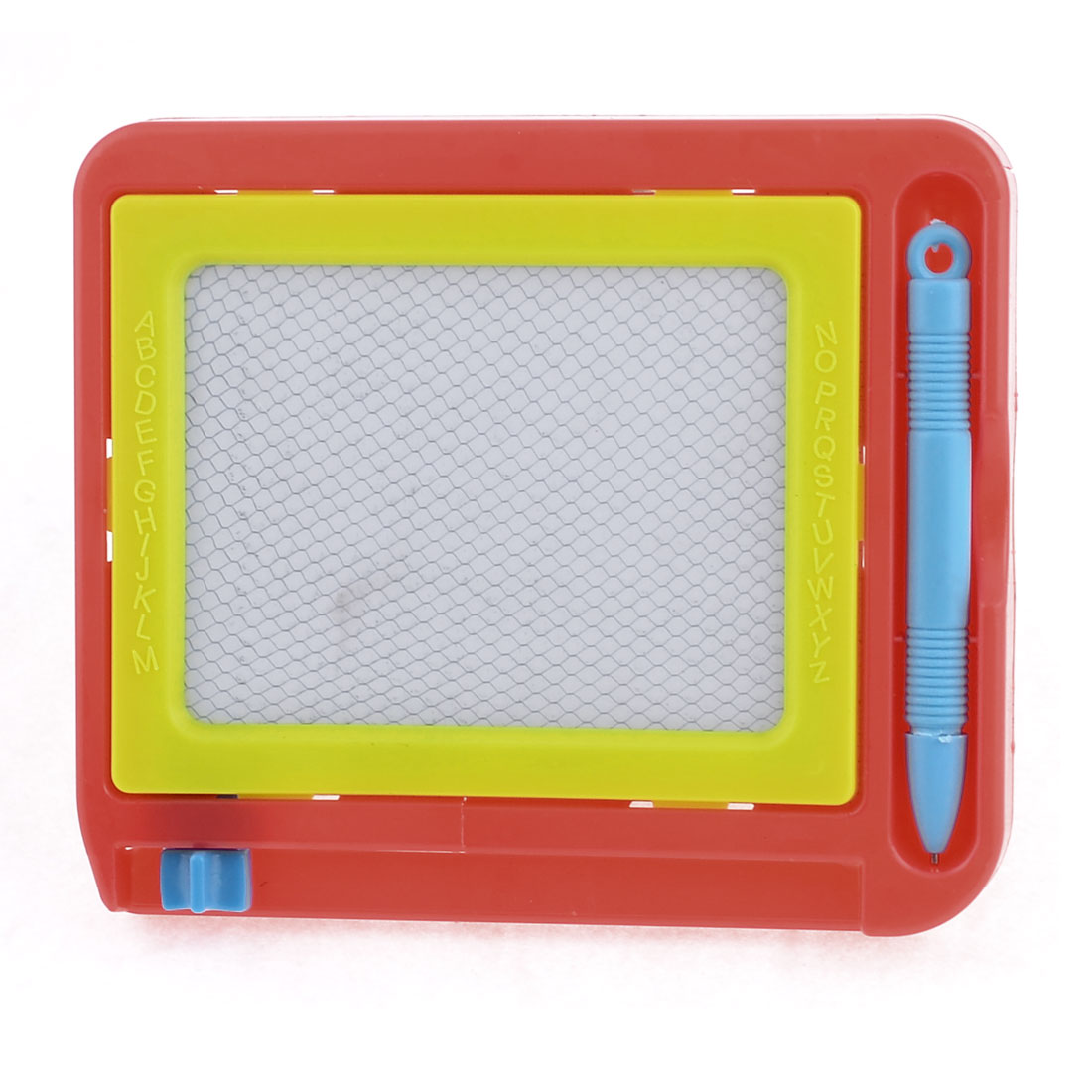 Red Yellow Learning Toy Writing Board w Blue Pen for Kids