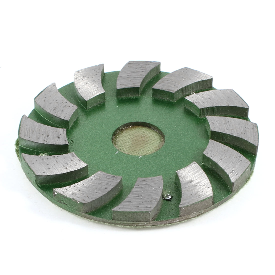 "Spiral 12 Segments 2cm Hole 3.5"" Outside Diameter Turbo Cup Wheel"