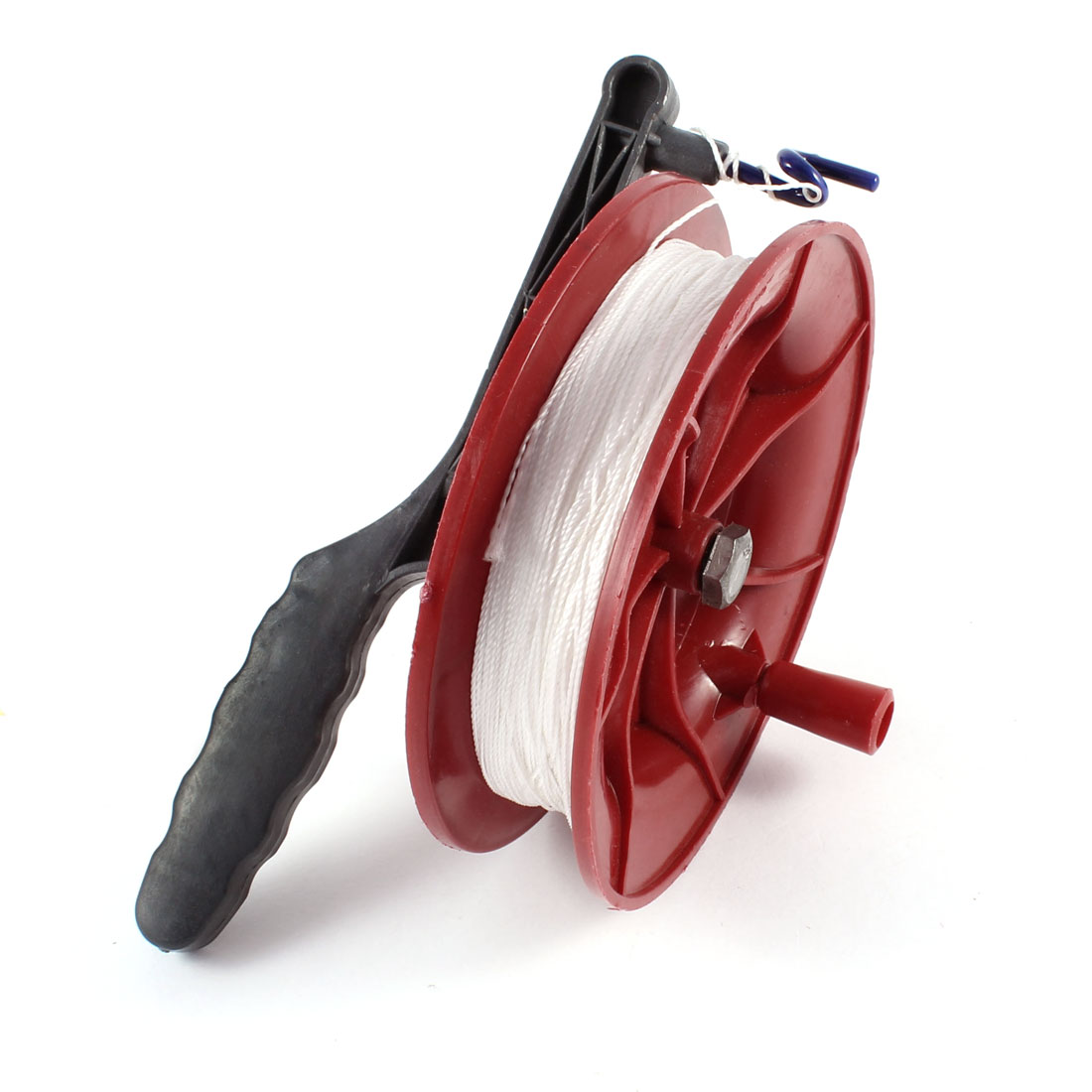 "Outdoor Nylon String 4.9"" Diameter Plastic Round Spool Kite Reel Winder"
