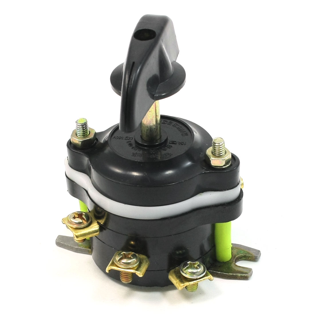 380V 10A 3 Position Rotary Selector Lug Control Combination Switch